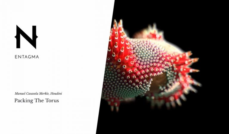 How to Densely Pack Objects on the Surface of a Torus in Houdini from Entagma