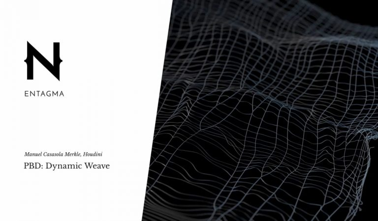 How to Dynamically Generate a Piece of Woven Fabric in Houdini from Entagma