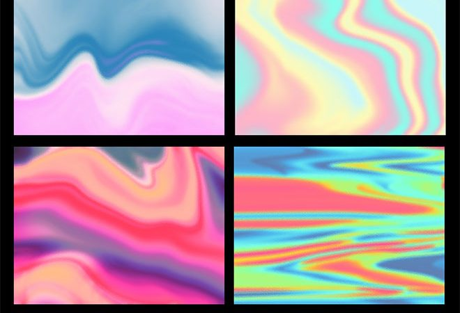 10 Free Textures To Simulate Holographic Foil Print Effects from Spoon Graphics