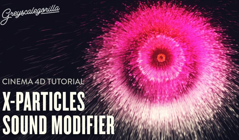 Animate X-Particles With The Sound Modifier in Cinema 4D from Greyscalegorilla