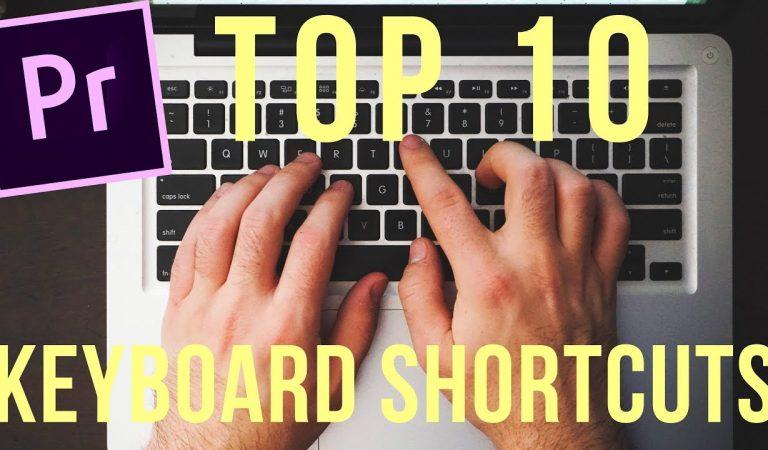 Top 10 Premiere Pro Keyboard Shortcuts in Premiere Pro from Motion Array