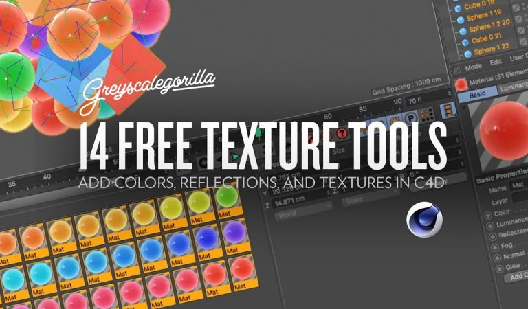 14 Free Texture Tools to Add Colors, Reflections, and Textures from Greyscalegorilla