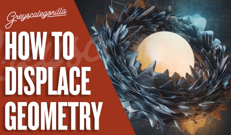 Displacer Deformer And Sub Poly Displacement in Cinema 4D from Greyscalegorilla