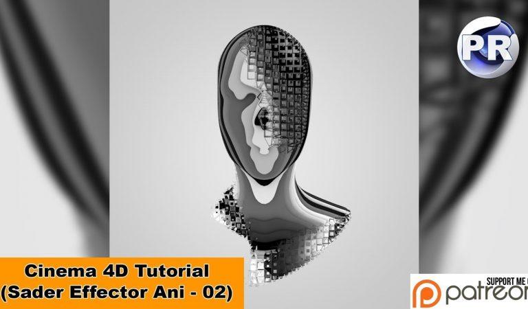 Shader Effector Animation in Cinema 4D from Nikomedia