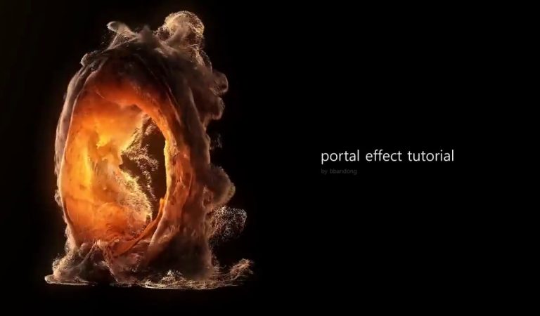 Portal Effect with FumeFX & Krakatoa in 3ds Max from FX Hive