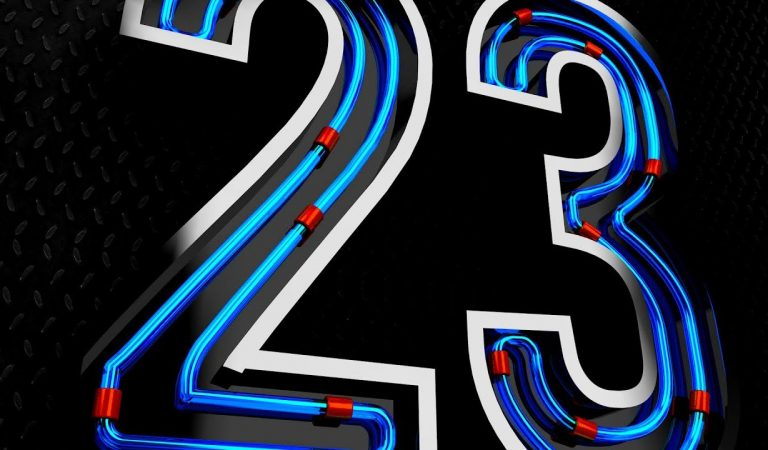 Neon Lights Text Effect in Cinema 4D from Fattu Tutorials