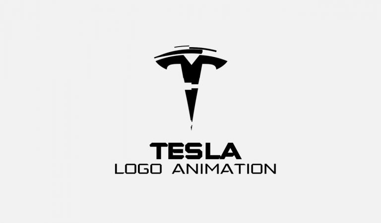 Tesla Logo Animation in After Effects from Easy After Effects