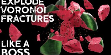 Explode Voronoi Fractures Like A Boss in Cinema 4D from Edmund Brown