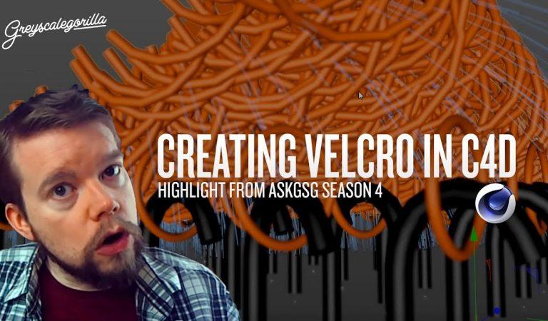 Recreating the Velcro Effect in Cinema 4D from Greyscalegorilla