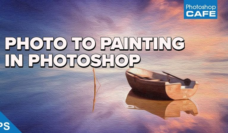 How to Make an Oil Painting From a Photo in Photoshop from PhotoshopCafe