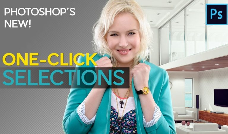"""Newest """"One Click"""" Selection Tool in Photoshop from Matt Kloskowski"""