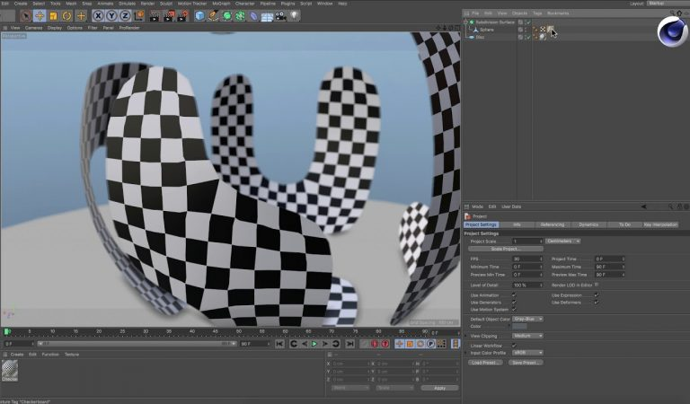 How to Fix Stretched Textures in a Subdivision Surface Object in Cinema 4D from Maxon