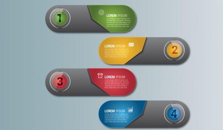 Capsule Infographic Design in Illustrator from Graphic Tweakz