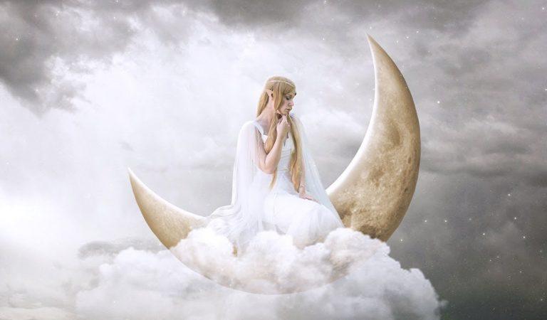 Fantasy Princess Moon in Photoshop from Andhika Zanuar