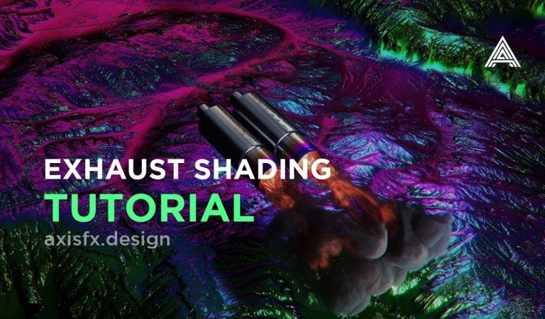 Shading an Exhaust and VDB Smoke with OctaneRender in Cinema 4D from AxisFX