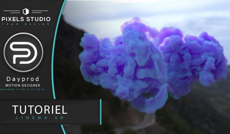 Make Volumetric Cloud with OctaneRender & Corona Render in Cinema 4D from Pixels Studio