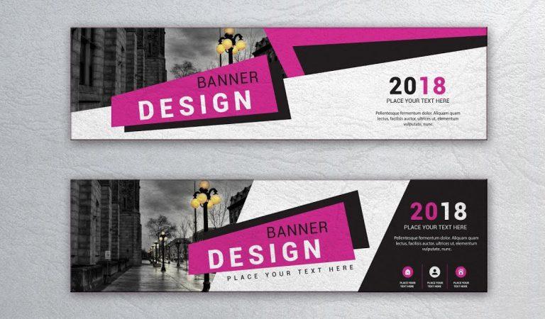 Banner Design in Illustrator from Graphic Tweakz