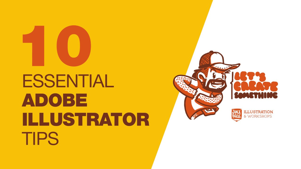 10 Essential Adobe Illustrator CC2017 Tips from Let's Create Something