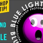 QUICK Tip: How Place Text Around a Circle in Photoshop from Blue Lightning TV