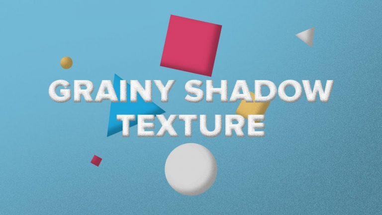Grainy Shadow Texture in After Effects from Creative Dojo