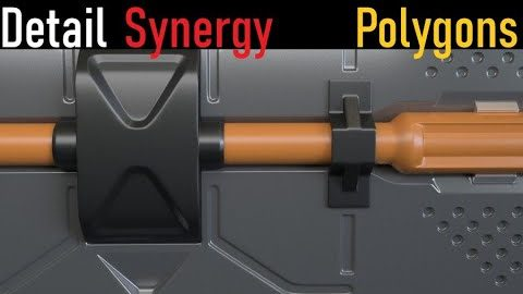 Detail Synergy (Polygons) #2 - Design Principles in 3ds Max from Arrimus 3D
