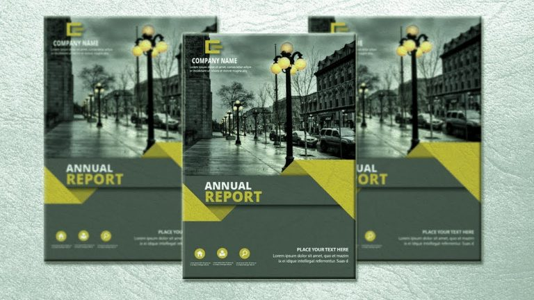 Designing an Annual Report in Illustrator from Graphic Tweakz