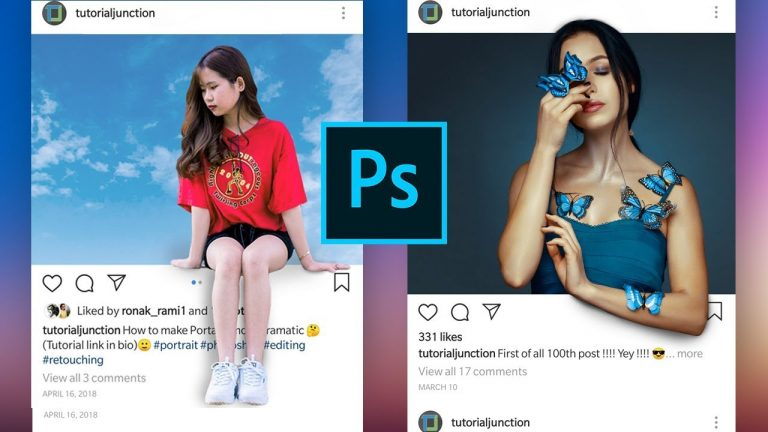 How to Create a 3D instagram Photo Frame Effect in Photoshop from Photoshop Tutorials