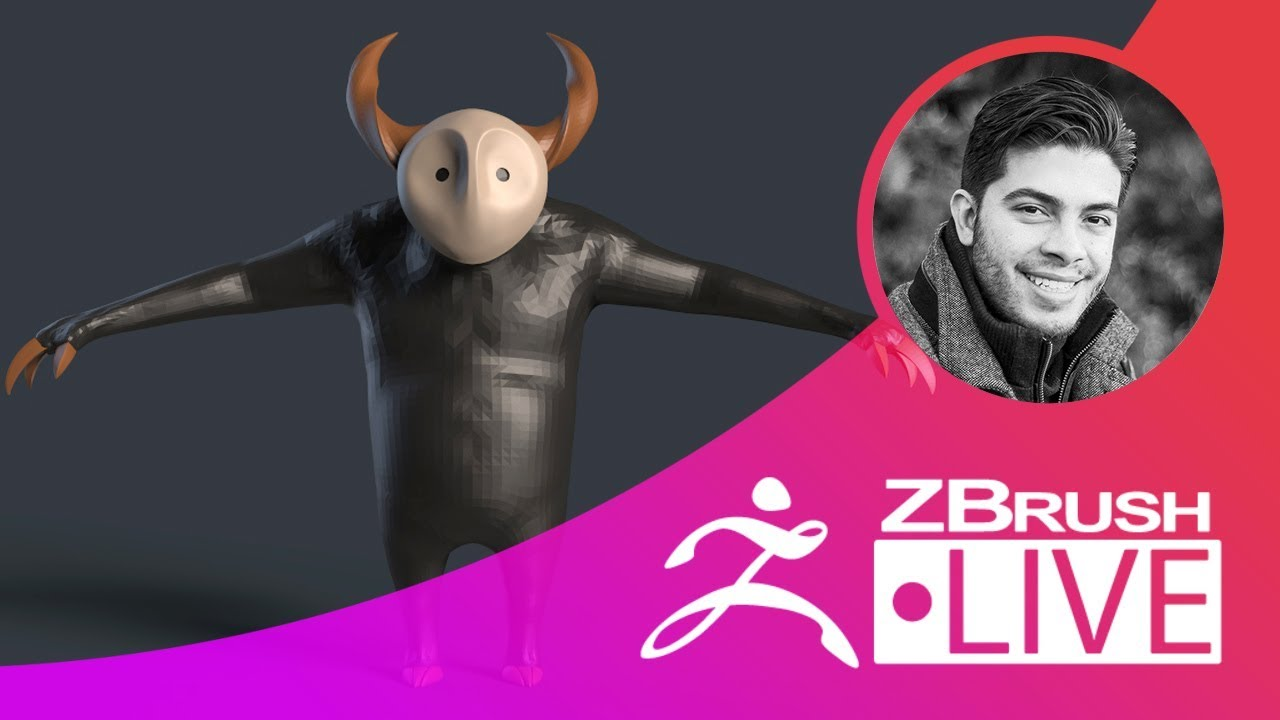 2D Sketch to Blockout in ZBrush from Pixologic
