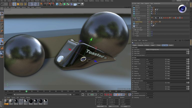 How to Create Plastic Deformation in Cinema 4D from Maxon