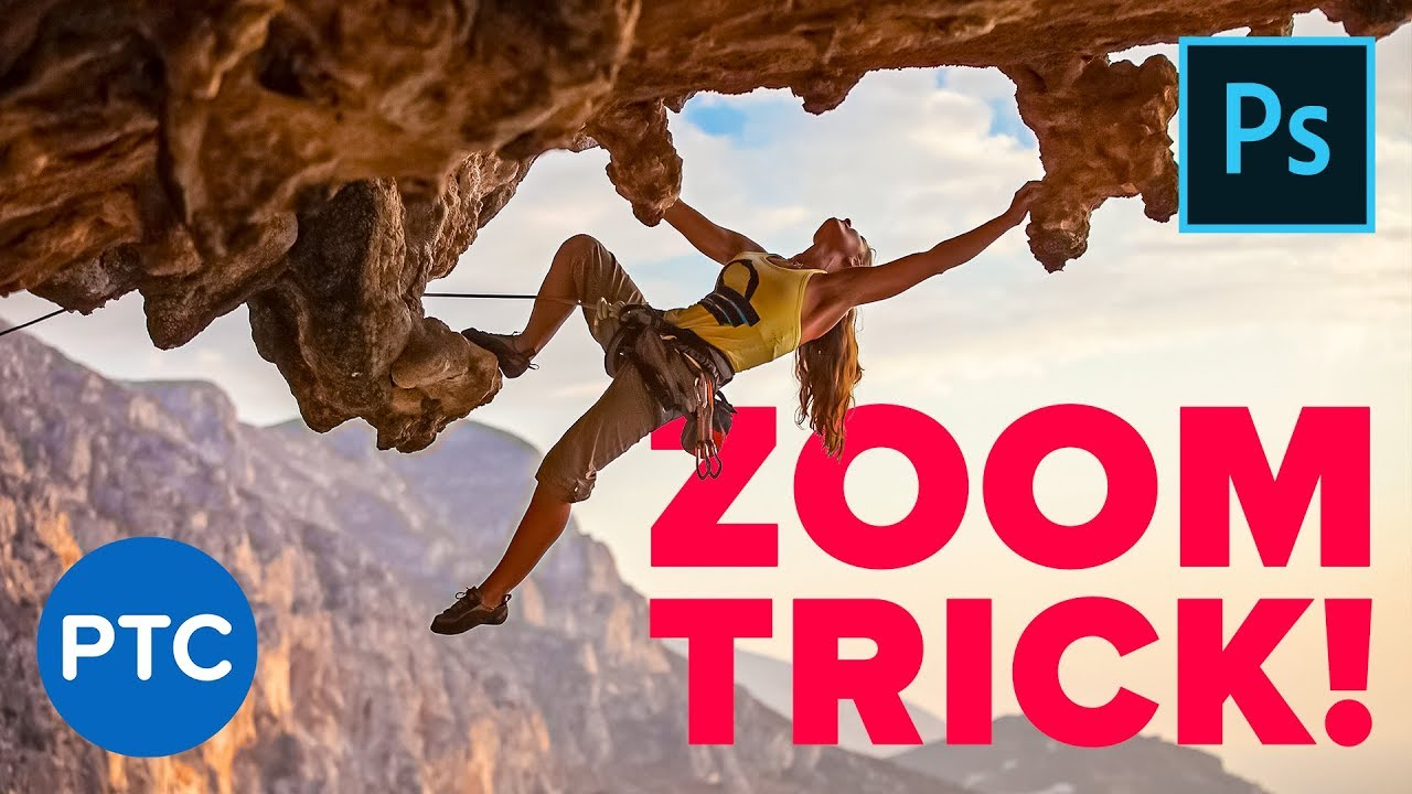 Little-Known Zoom Trick in Photoshop from Photoshop Training Channel