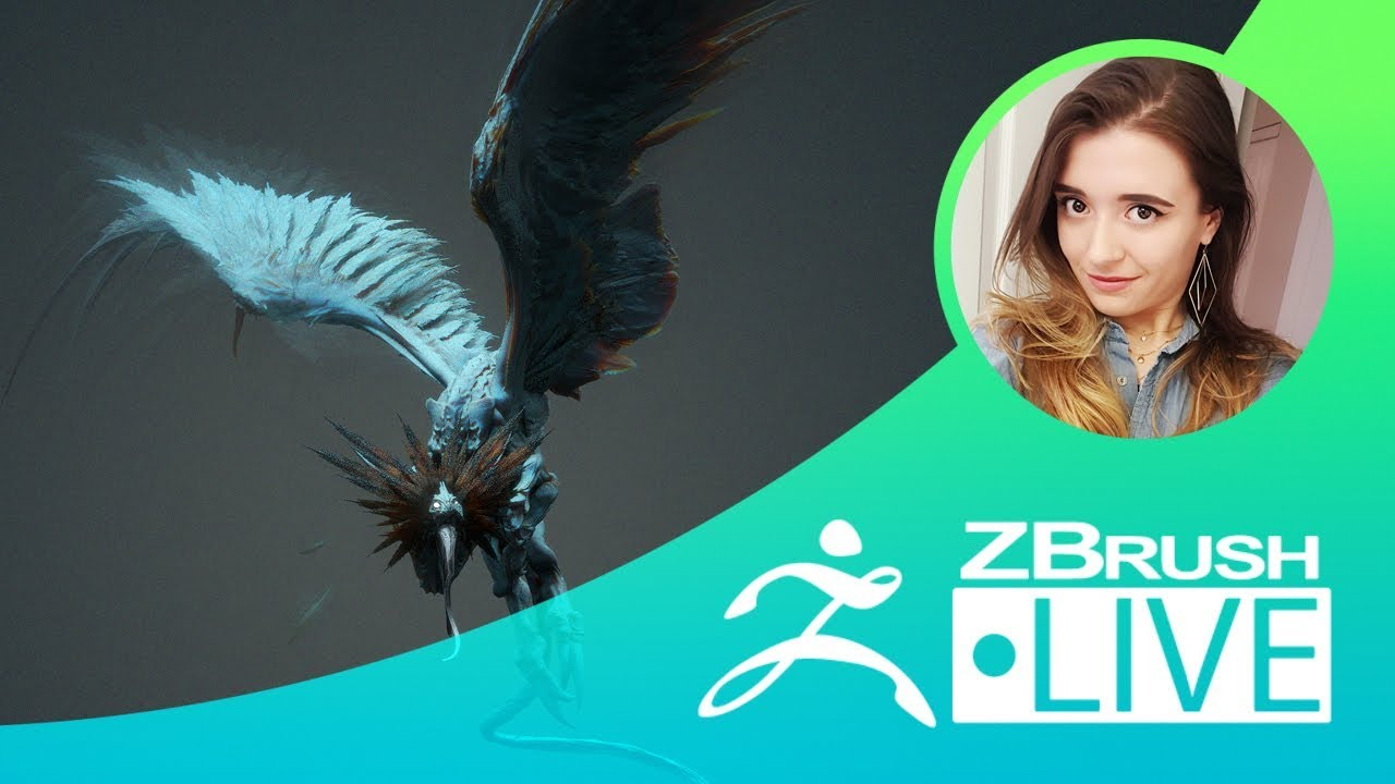 Concepting a Winged Creature in ZBrush from Pixologic