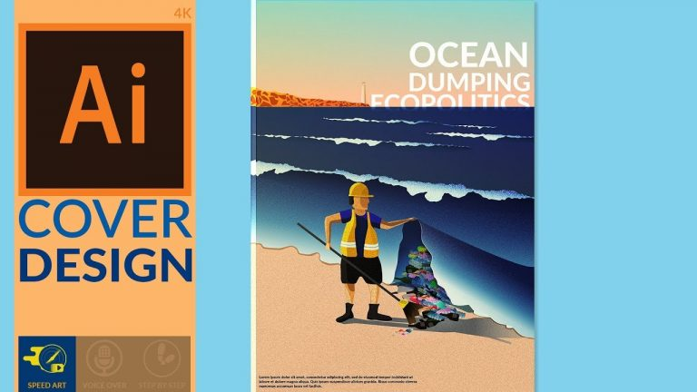 Book Cover Design in Adobe Illustrator from Digital Art Creation
