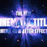 Cool Cinematic Title Animation in After Effects & Cinema 4D from Fatu Tutorials