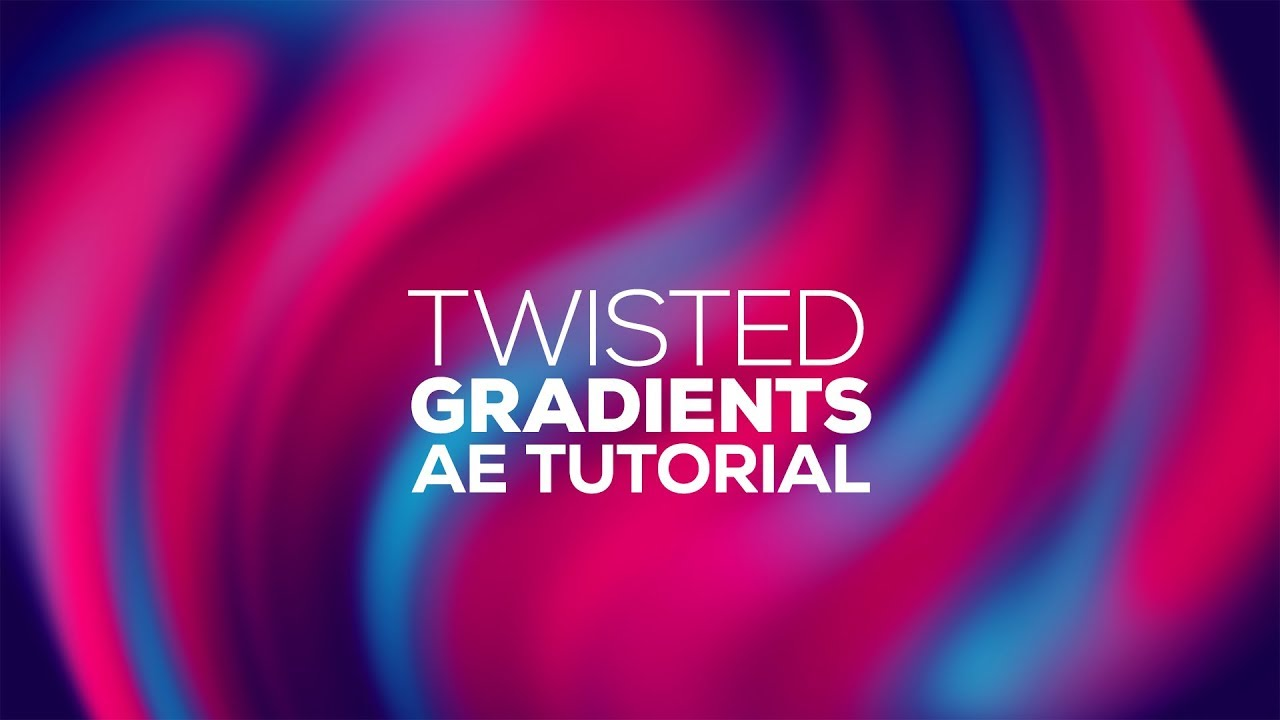 Twisted Gradient Backgrounds in After Effects from Dope Motions