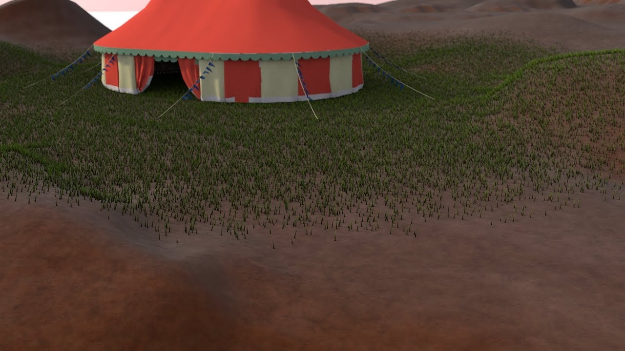 Fading the Edges of Hair that is Applied to Polygon Selections in Cinema 4D from Cineversity