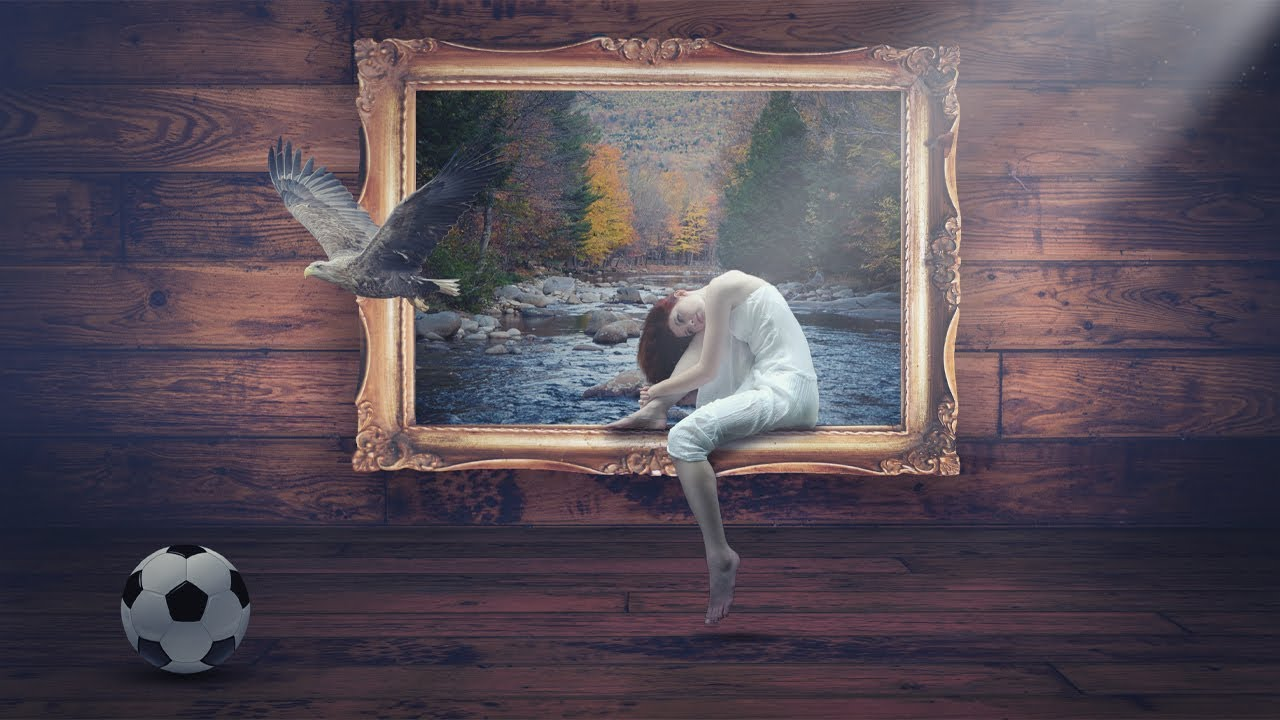 3D Frame Manipulation in Photoshop from Picture Fun