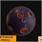 Moving Holes in Cinema 4D from Nikomedia