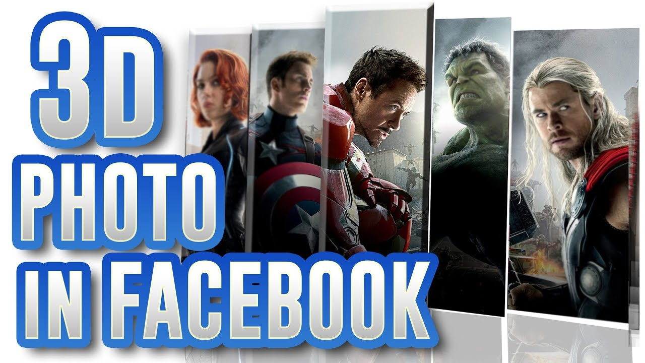 Create 3d Photo for Facebook in Photoshop from MutualGrid Photoshop Tutorials