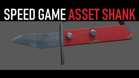 Game Asset - Shank in 3ds Max from Arrimus 3D