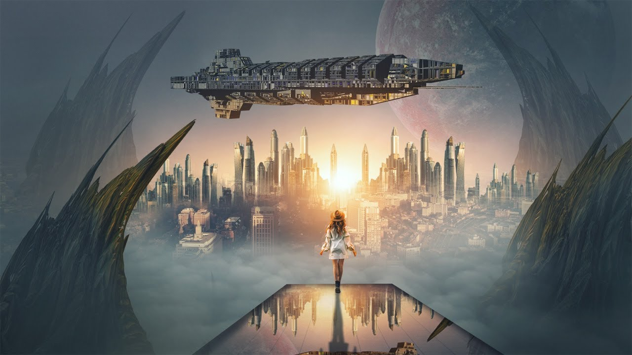 Sci Fi World Photo Manipulation in Photoshop from Picture Fun