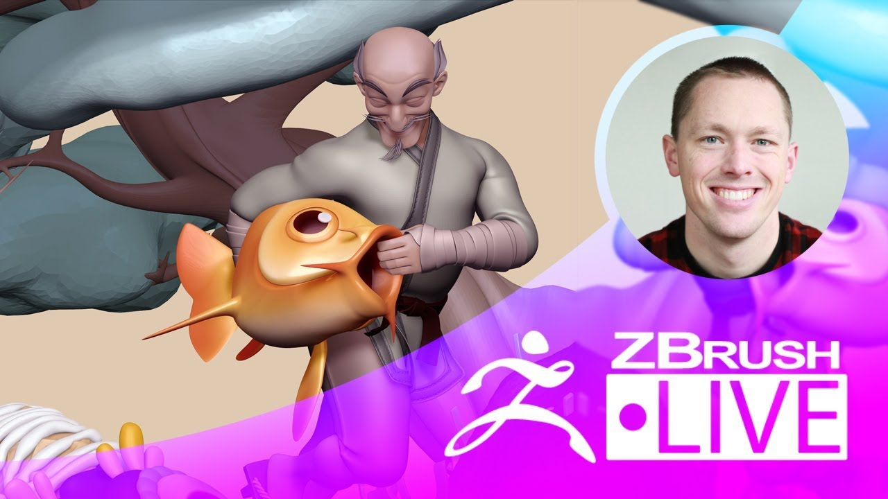 Refining the Details of Candyland in ZBrush from Pixologic